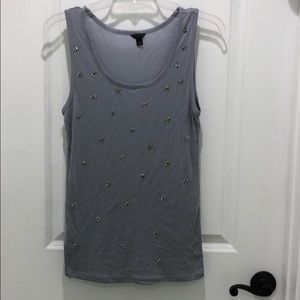 Ann Taylor bejeweled tank top